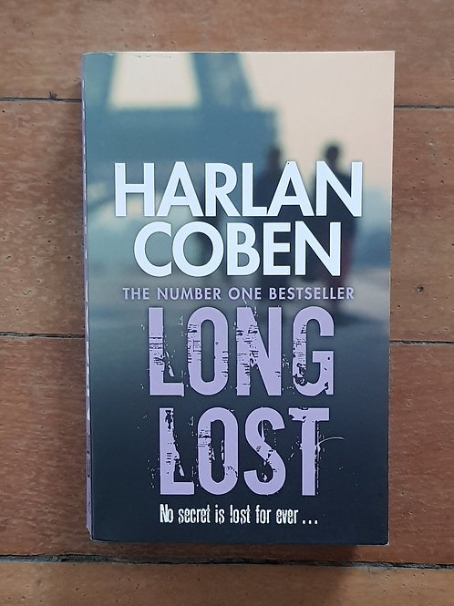 Long Lost by Harlan Coben (soft cover, excellent condition)