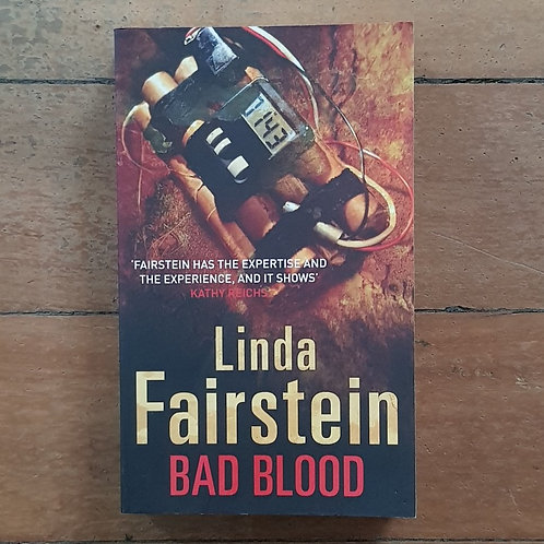 Bad Blood by Linda Fairstein (soft cover, good condition)