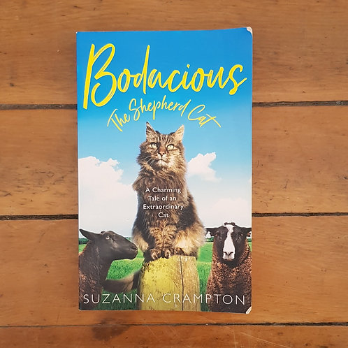 Bodacious: The Shepherd Cat by Suzanna Crampton (soft cover, good condition)