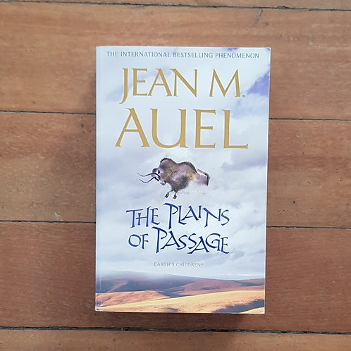 The Plains of Passage by Jean M Auel (soft cover, good condition)