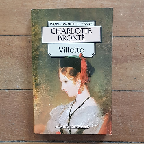 Villette by Charlotte Bronte (soft cover, fair condition)