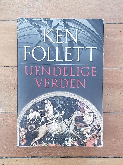 Uendelige Verden (Kingsbridge #2) by Ken Follett (soft cover, good condition)