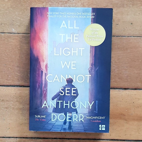 All the light we cannot see by Anthony Doerr (soft cover, good condition)