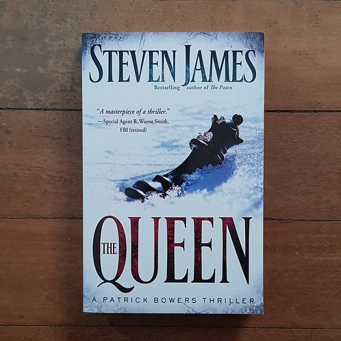 The Queen (The Patrick Bowers Files #5) by Steven James (soft cover, good cond)