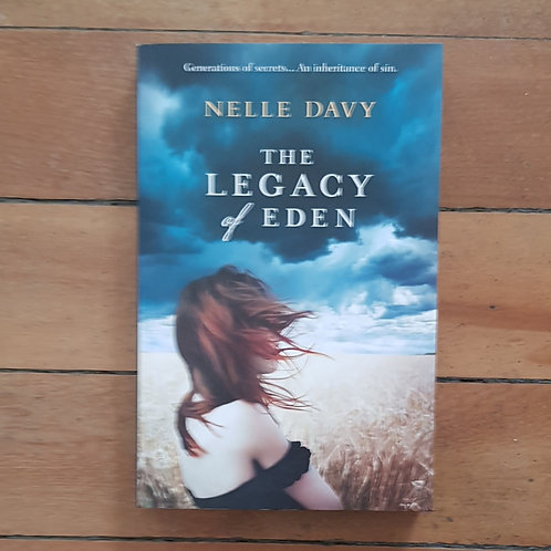 The Legacy of Eden by Nelle Davy (soft cover, very good condition)