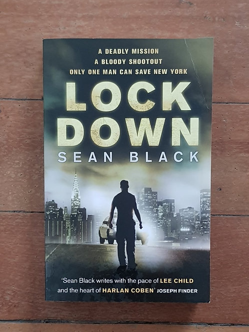Lock Down by Sean Black (soft cover, good condition)