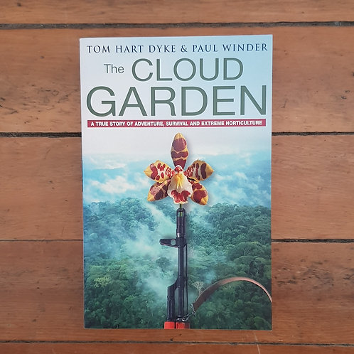 The Cloud Garden by Tom Hart Dyke (soft cover, v.good condition)