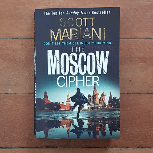 The Moscow Cipher (Ben Hope #17) by Scott Mariani (soft cover, good condition)