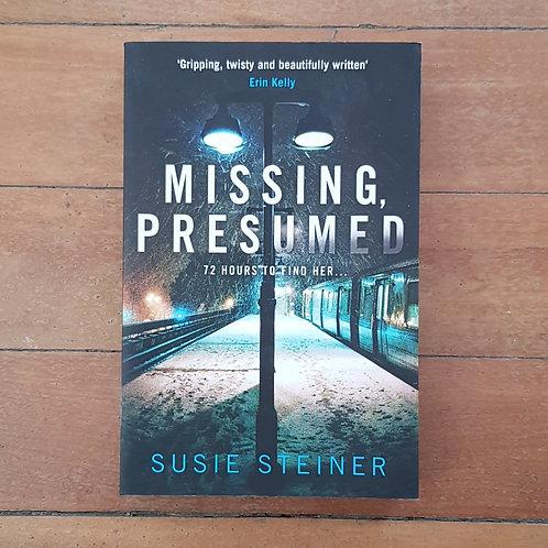 Missing, Presumed (DS Manon Bradshaw #1) by Susie Steiner (soft cov, v.good cond