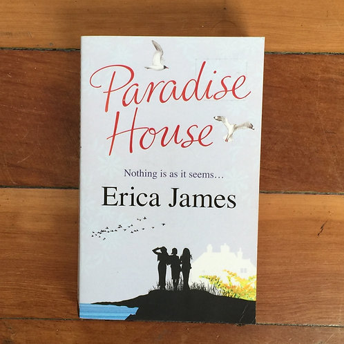 Paradise House by Erica James (soft cover, good condition)