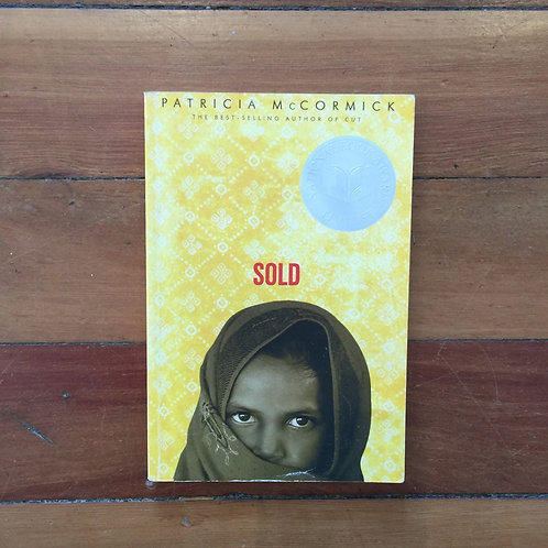 Sold by Patricia McCormick (soft cover, good condition)