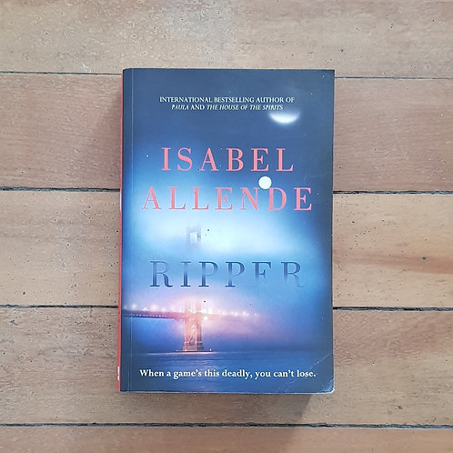 Ripper by Isobel Allende (soft cover, good condition)