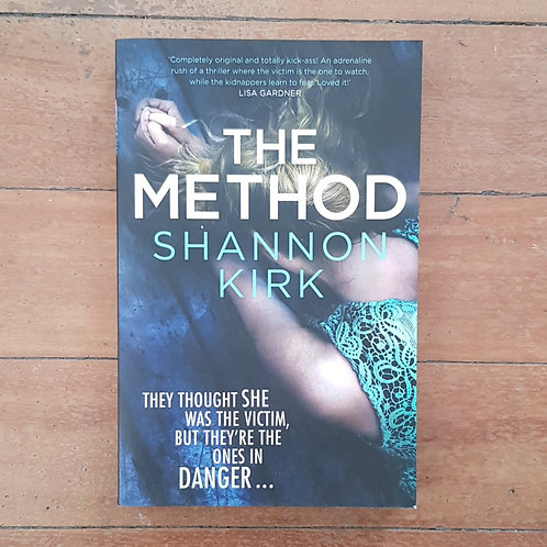 The Method by Shannon Kirk (soft cover, v.good condition)