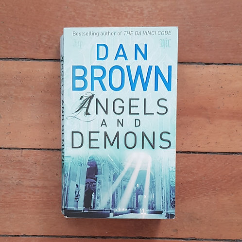 Angels and Demons by Dan Brown (soft cover, good condition)