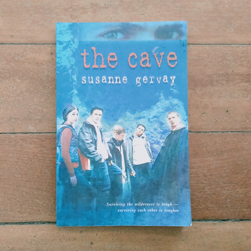 The Cave by Susanne Gervay (soft cover, good condition)