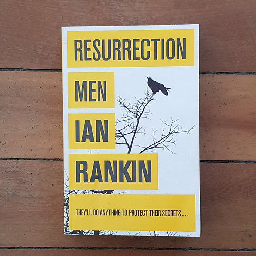 Resurrection Men by Ian Rankin (soft cover, good condition)