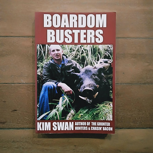 Boardom Busting by Kim Swan (soft cover, good condition)