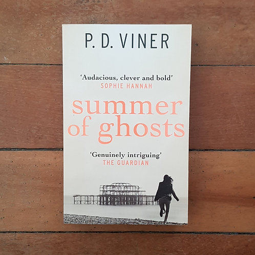 Summer of Ghosts (Dani Lancing #2) by P.D. Viner (soft cover, good condition)