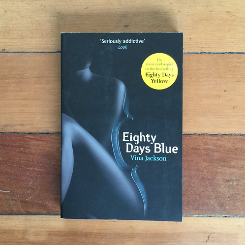 Eighty Days Red by Vina Jackson (soft cover, very good condition)