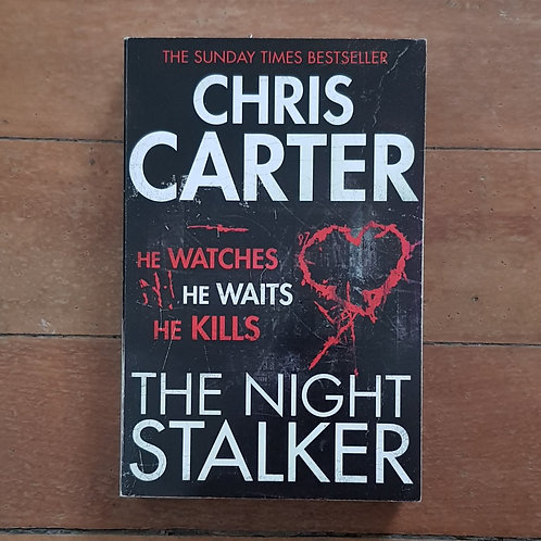 The Night Stalker by Chris Carter (soft cover, good condition)