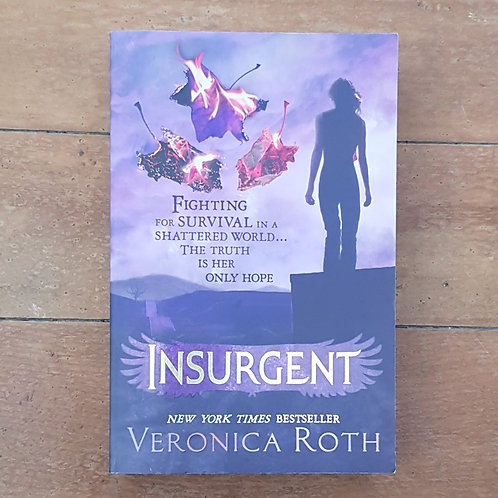 Insurgent (Divergent #2) by Veronica Roth (soft cover, v.good condition)