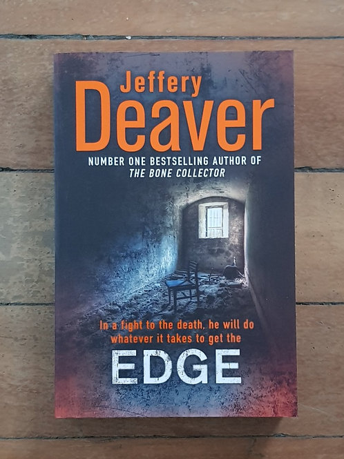 Edge by Jeffery Deaver (soft cover, excellent condition)