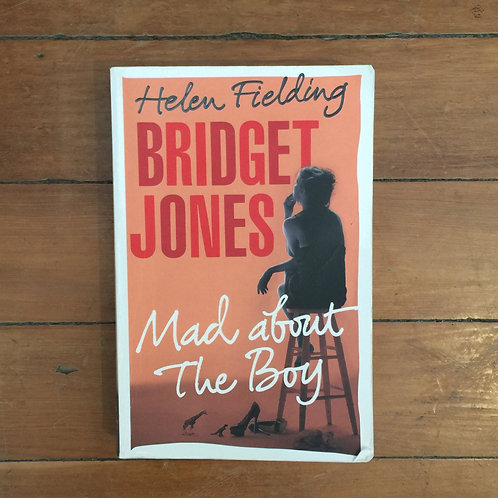 Bridget Jones Mad about the Boy by Helen Fielding (soft cover, fair condition)