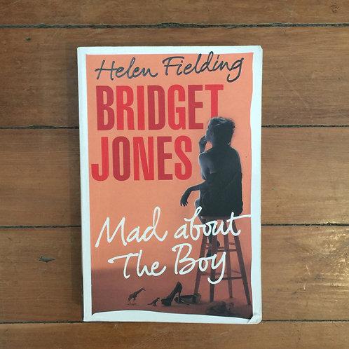 Bridget Jones Mad about the Boy by Helen Fielding (soft cover, fair condition)