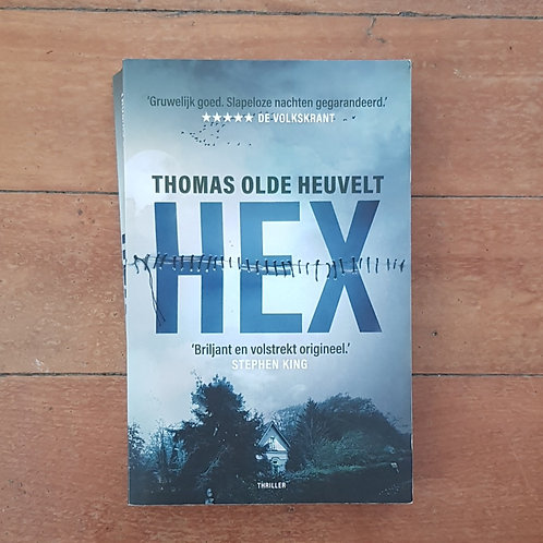 Hex by Thomas Olde Heuvelt (German edition) (soft cover, good condition)