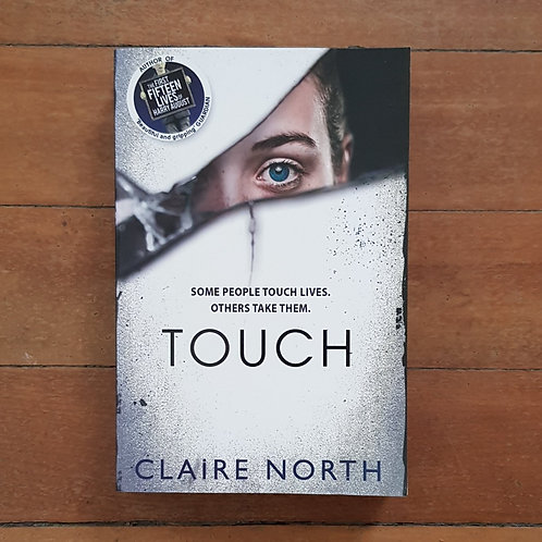 Touch by Claire North (soft cover, very good condition)