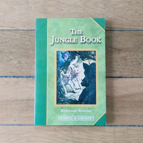 The Jungle Book  by Rudyard Kipling (soft cover, good condition)