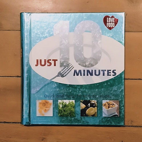 Just 10 Minutes by Carol Wilson (hard cover, good condition)