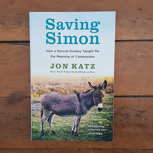 Saving Simon by Jon Katz (soft cover, v.good condition)