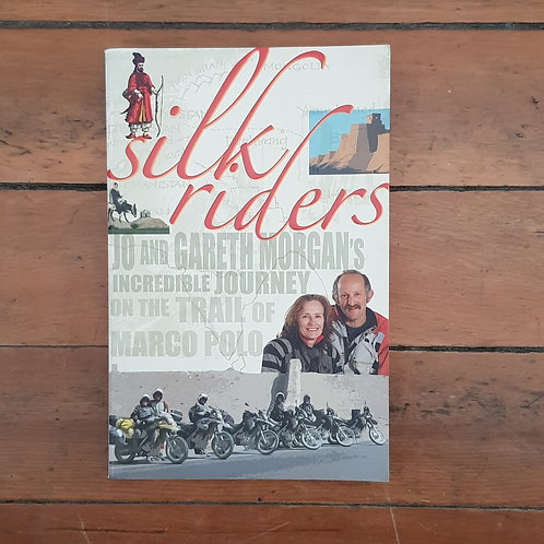 Silk Riders: Trail of Marco Polo by Gareth Morgan (soft cover, good cond)