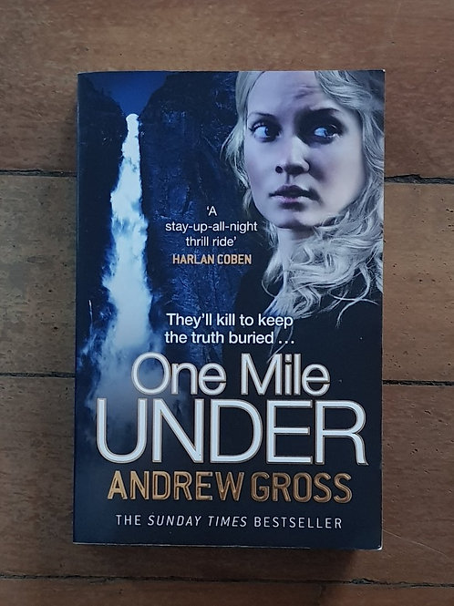 One Mile Under (Ty Hauck #4) by Andrew Gross (softcover, good condition)