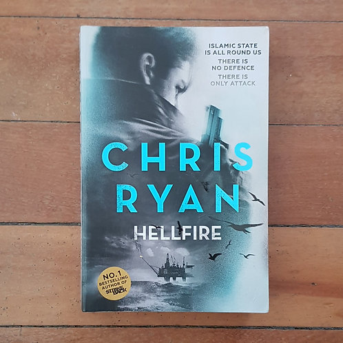 Hellfire (Danny Black #3) by Chris Ryan (soft cover, good condition)