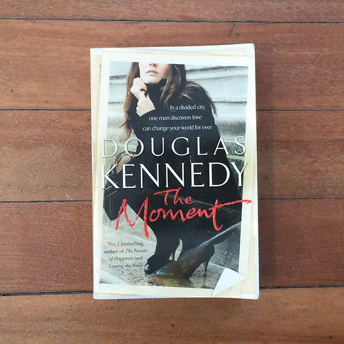 The Moment by Douglas Kennedy (soft cover, good condition)