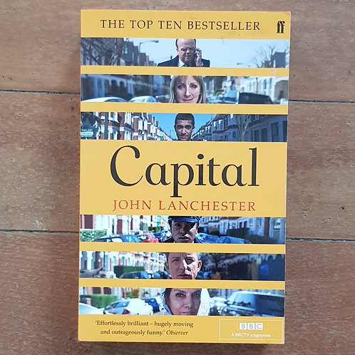 Capital by John Lanchester (soft cover, good condition)