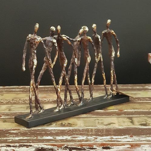 Walking Men Sculpture
