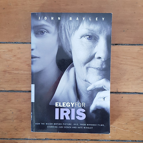Elegy for Iris by John Bayley (soft cover, good condition)