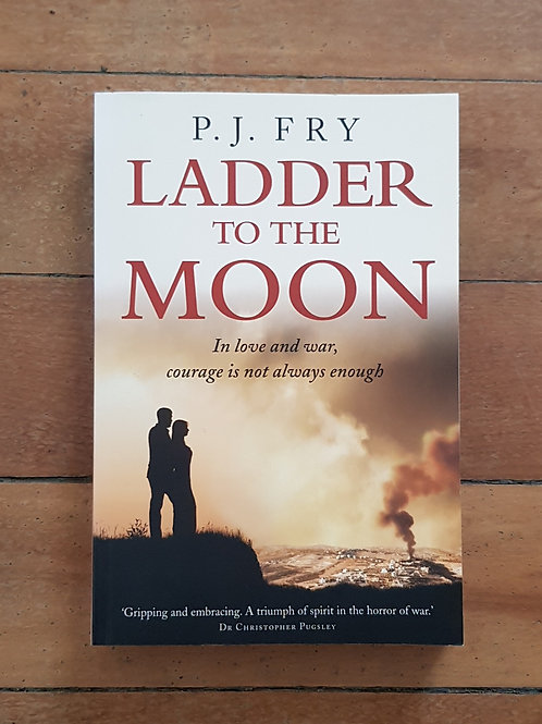 Ladder to the Moon by P.J. Fry (soft cover, excellent condition)