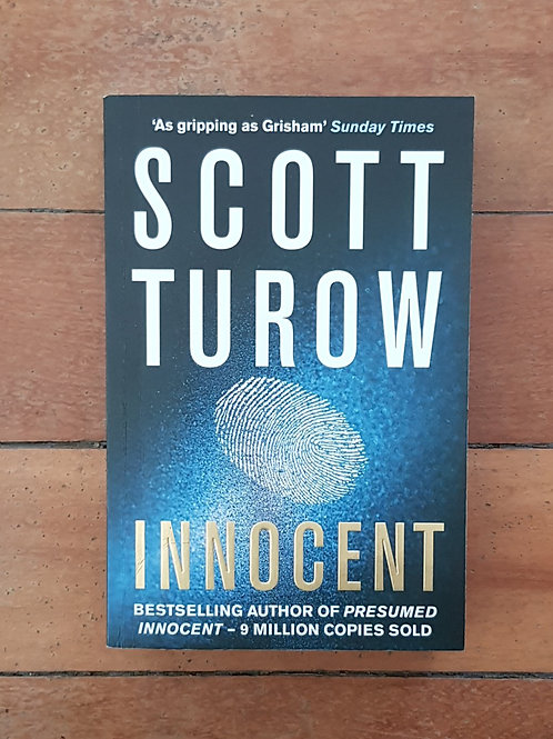Innocent by by Scott Turow (soft cover, good condition)