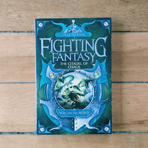 The Citadel of Chaos (Fighting Fantasy #2) by Steve Jackson (soft, v.good cond)