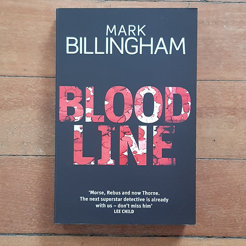 Blood Line by Mark Billingham (sofr cover, good condition)