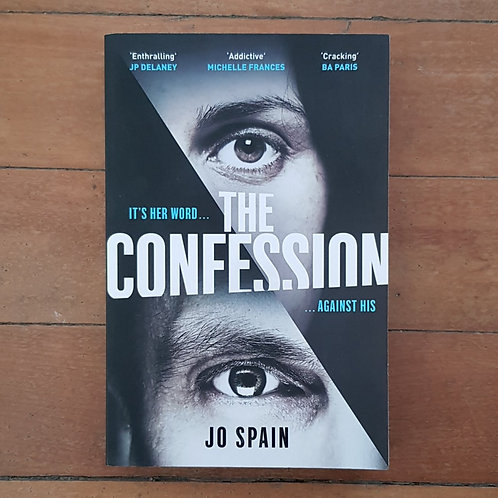 The Confession by Jo Spain (soft cover, v.good condition)