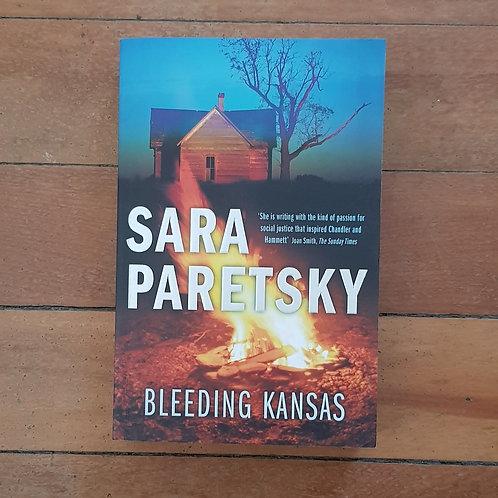 Bleeding Kansas by Sara Paretsky (soft cover, v.good condition)