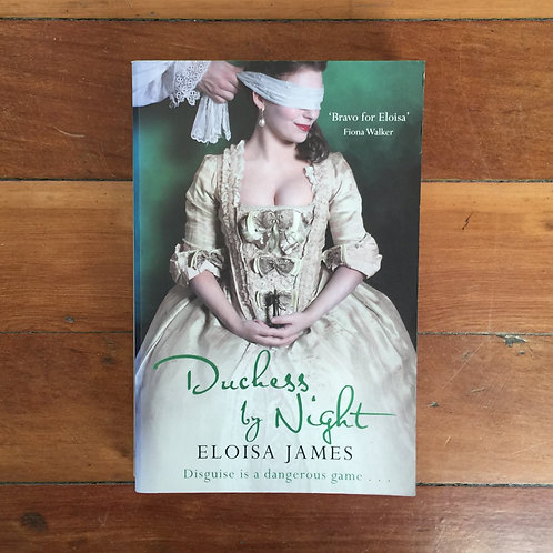 Duchess by Night by Eloisa James (soft cover, good condition)