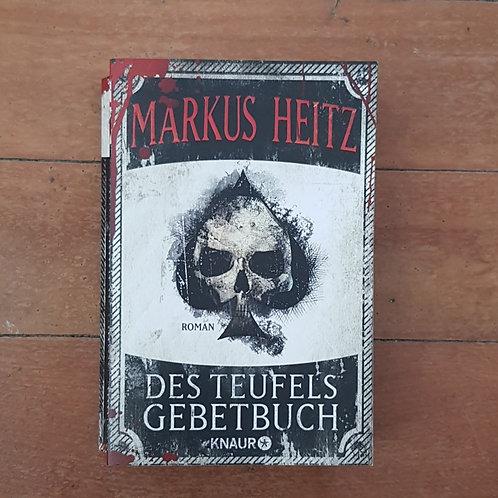 Des Teufels Gebetbuch by Markus Heitz (soft cover, good condition)
