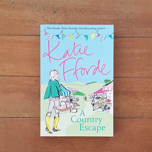 A Country Escape by Katie Fforde (soft cover, very good condition)