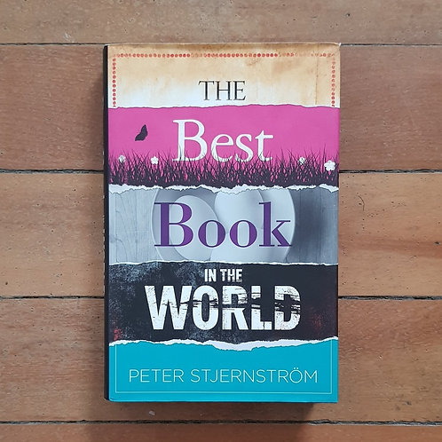The Best Book In the World by Peter Stjernstrom (hard cover, v. good condition)